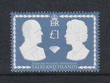 Falkland est.2007 Diamond Mariage SG 1087 neuf sans charnière.