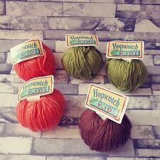 Reynolds Kids Hopscotch 100% Superwash Wool vintage Yarn lot #7382-#7250-#5606