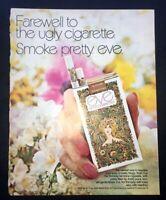 Life Magazine Ad EVE Cigarettes 1971 Ad