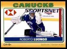 2012-13 O-Pee-Chee Stickers Roberto Luongo #S-89