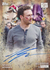 2017 Topps Walking Dead Season 7 Autograph Auto Ross Marquand Aaron