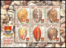 """KIRIBATI 824a - Pacific Cowrie Shells """"Souvenir Sheet"""" (pa9999)"""