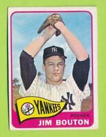 1965 Topps - Jim Bouton (#30)  New York Yankees