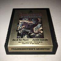 EX Cond Atari 2600 VCS Frankenstein's Monster Rare Game Tested HTF Vintage