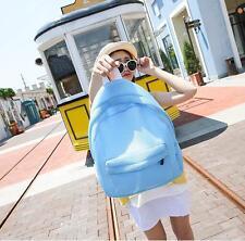 Blue Fashion Women Girls Ladies Backpack Travel Shoulder Bag Rucksack Net