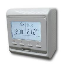 Digital Raumthermostat programmierbar Temperaturregler AUFPUTZ #z792ap
