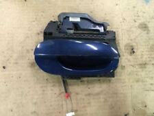 2000 00 BMW 528I RIGHT PASSENGER SIDE REAR BLUE EXTERIOR OUTER DOOR HANDLE