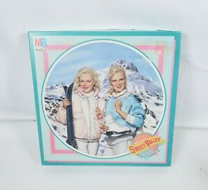 Vintage 1988 Sweet Valley High Jigsaw Puzzle 4965-4 Winter Carnival Complete