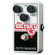 Electro Harmonix Nano Big Muff Guitar Effects Pedal Distortion / Fuzz/ Overdrive