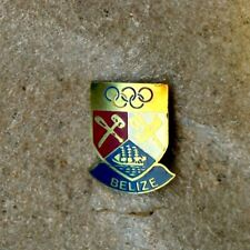 NOC Belize 1984 Los Angeles OLYMPIC Games Pin