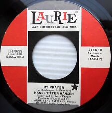 HANS PETTER HANSEN my prayer do you think I can't go on 1975 POPCORN 45 e6564