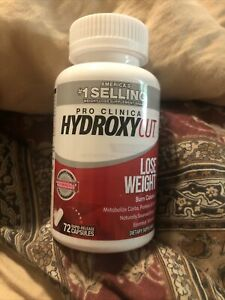 Hydroxycut Pro Clinical Lose Weight Dietary Supplement - 72 Capsules Ex. 11/22