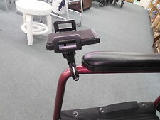 Invacare Drive Lumex Wheelchair Transport Chair Cell Phone iphone GPS MP4 holder