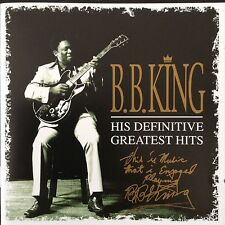 B.B.KING: HIS DEFINITIVE GREATEST HITS 2CD  The best of a blues legend