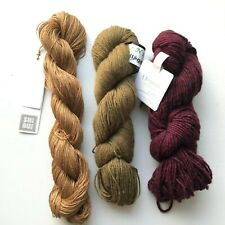 Assorted Yarns,  SHIBUI/Linen, Kollage, Fibre Co., 3 Skeins