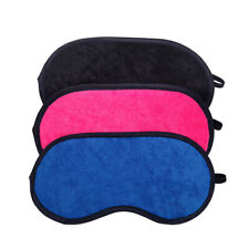 Protect eyes 19x9cm sleep eye mask Blue / Rose Red / Black