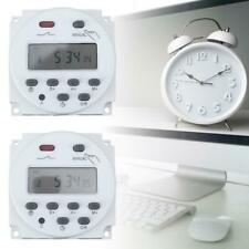 Digital LCD Display Electronic Plug-in rogrammable Timer Switch Socket 24hr 7Day