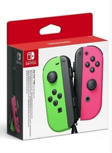 Nintendo Switch Joy-Con Controller Pair - Neon Green/Pink
