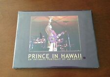 PRINCE IN HAWAII HARDCOVER BOOK BY AFSHIN SHAHIDI - NEW SEALED - 2004 NPG MUSIC