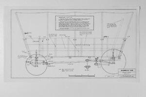 Transport Wagon Covered Wagon Western  Horse Drawn Wagon Vtg 1980's Model Plans