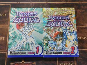 Saint Seiya: Knights Of The Zodiac Vol 1 + 2 Shonen Jump Manga Graphic Novel