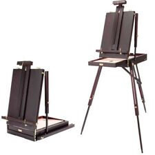 SoHo Urban Artist Lightweight Mahogany Wooden French Easel Art Foldable Travel