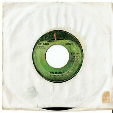 """Beatles """"Get Back""""/ """"Don't Let Me Down"""" 45 RPM record"""