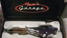 Rare Special Tom's Garage Key In A Purple Small Scale Diecast By GMP 2009  dc974