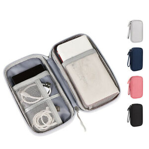 USB Cable Organizer Bag Travel Hard Disk Charger Accessories Gadget Storage Case