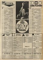 NME CHARTS FOR 26/3/1983 BONNIE TYLERS TOTAL ECLIPSE 0F THE HEART WAS NO.1