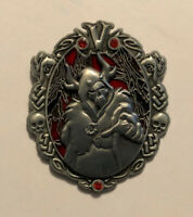 Disney Horned King Wonderfully Wicked Pewter Pin Black Cauldron Villain LE 3000