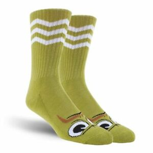 Toy Machine Turtleboy Stache Socks - Lime