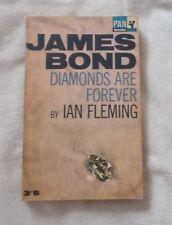 Ian Fleming -  Diamonds are Forever - James Bond 007  Book - p/b - 1965