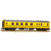 Graham Farish 374-191 N Gauge BR Departmental Yellow Mk 1 BCK Coach