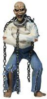 "Iron Maiden Eddie Piece of Mind 8"" Clothed Action Figure Doll 20cm NECA in Box"
