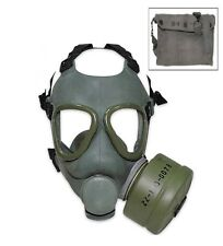 Military Surplus Yugoslavian Gas Mask with Filter M8 Bag Free Shipping USA