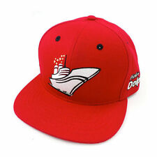 PINK DOLPHIN Yacht Red Strapback Cap