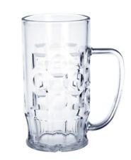 12 St. Bierkrüge 0,5l - bruchsicherer Kunststoff Gläser