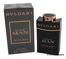 Man In Black By Bvlgari 3.4oz/100ml Edp Spray For Men New In Box