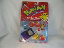 REDUCED 1999 Pokemon Articuno Moltres Zapdos Purple PokeBall Blaster Battle Disc