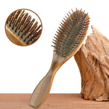 No-Static Healthy Comb Natural Sandalwood Wooden Hair Brush Wife Mother's Gift