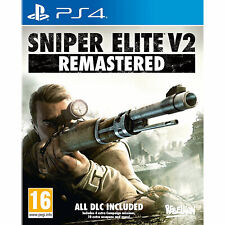 Sniper Elite V2 Remastered PS4 PLAYSTATION (inc ALL DLC) New and Sealed