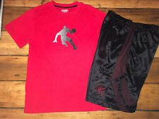 Boys youth Large 10/12 And1 summer outfit Shorts & S/S T-Shirt
