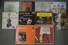 Lot of 10 Classical Violin LPs  Menuhin  Barinova  Heifetz  Kogan  Ferras  Kagan