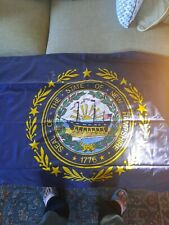 3x5 State of New Hampshire Flag 3'x5' House Banner duralite Grommets
