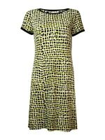 Calvin Klein Women's Printed Jersey Shift Dress