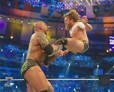 DANIEL BRYAN VS DAVE BATISTA WWE LICENSED WRESTLING 8x10 PHOTO NEW #1082