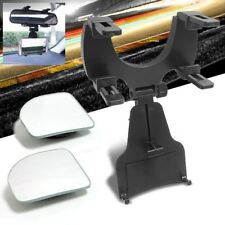 Phone Recorder Rearview Mount Holder+ Adjust Blind Spot Mirror For Galaxy/iPhone