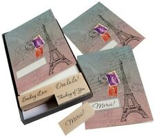 Hero Arts Eiffel Tower Cards and Stamp Set, Craft, Cards, Stamping, Paris France