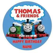 THOMAS AND FRIENDS  Edible Image Birthday Party Cake Topper 19cm Round